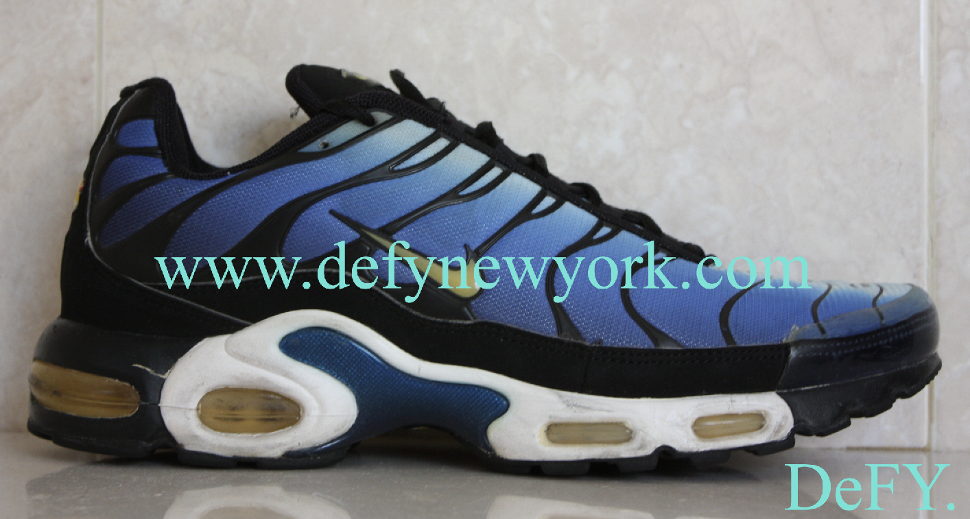 Nike Air Max Plus Original Hyper Blue 1998 Tuned Air Review ...