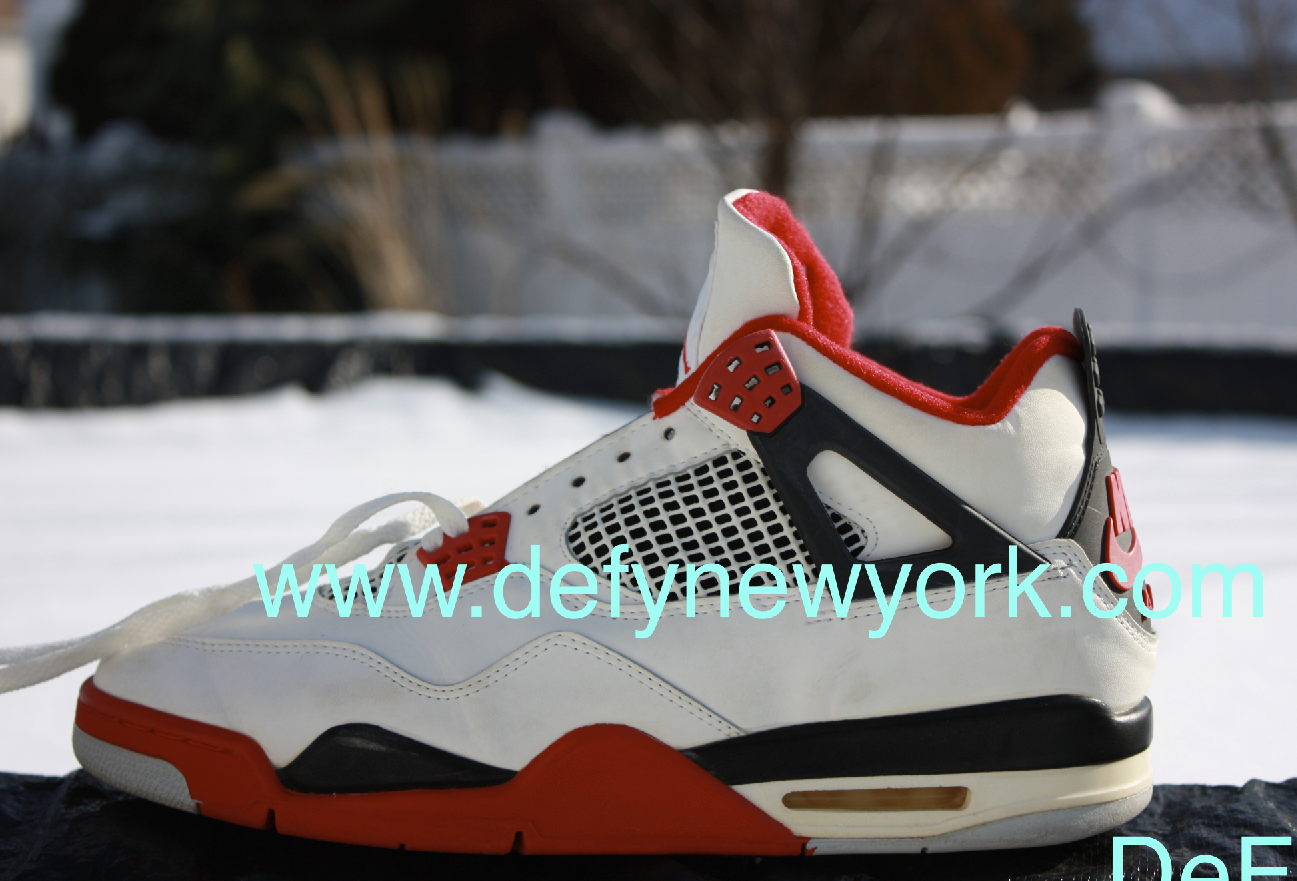 Nike Air Jordan IV Original Fire Red 1989 Release