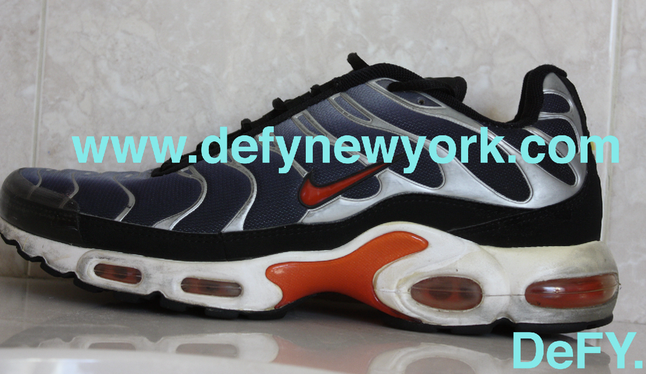 2f115afb7db7 The Original 1999 Nike Air Max Plus Black Silver Red Tuned Air ...