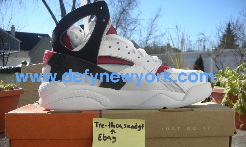 0b5dff056aa8 Nike Air Flight Huarache 2003 Retro White