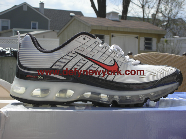 Nike Air Max 360 I Original 2006 Metallic Silver/Max Orange-Black ...