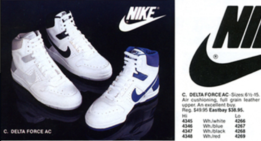 new styles 0dc50 c46b6 Nike Air Delta Force 1987 Original