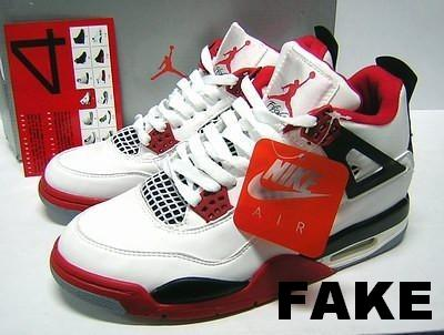 FAKE JORDAN IV STOCK PHOTO, THIS IS A STOCK PHOTO OF A FAKE PAIR OF SNEAKERS
