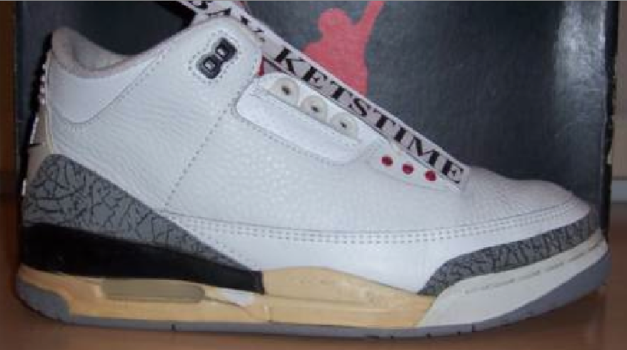 reputable site 6ed5b 4e476 The Evolution Of The Nike Air Jordan III White/Cement. 1988 ...