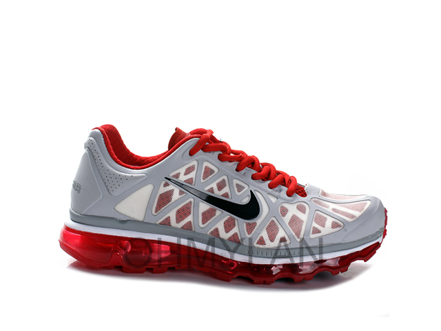 Nike Air Max 2011 Cool Grey Black Sport Red   DeFY. New York ... 4ee17288a