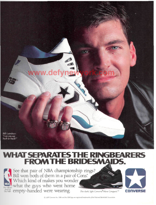 promo code 19957 870f9 Converse Energy Wave Conquest Light Bill Laimbeer 1990