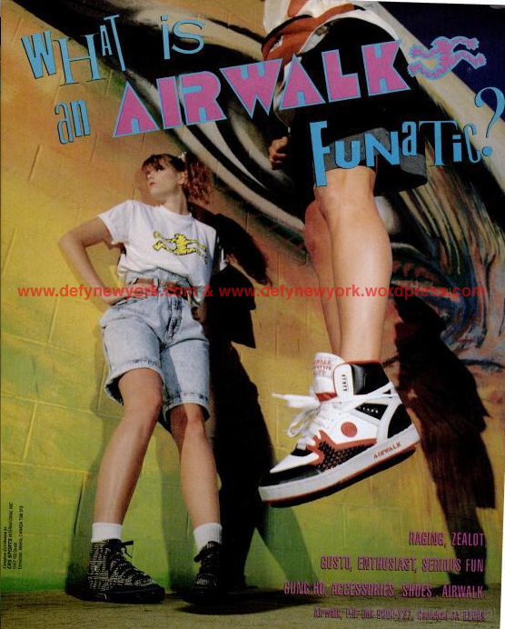 "official photos 3b2c2 ad2cb Airwalk 1989 Prototype 600 F ""Funatic"" – DeFY. New York-Sneakers ..."